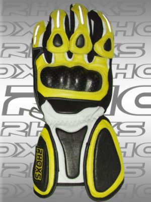 Guantes Racing Amarillo Front_H