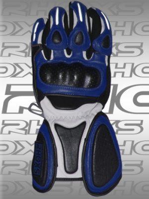 Guantes Racing Azul Front_H