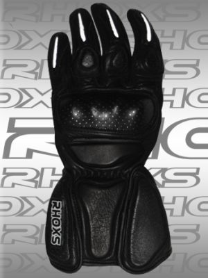 Guantes Racing Negro Front_H