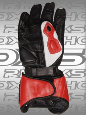 Guantes Racing Rojo Back_H