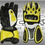 Guantes Racing amarillo