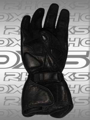 Guantes Racing negro Back_H
