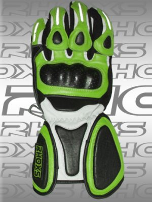 Guantes Racing verde Front_H