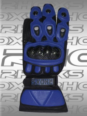 Guantes sport Azul Front_H