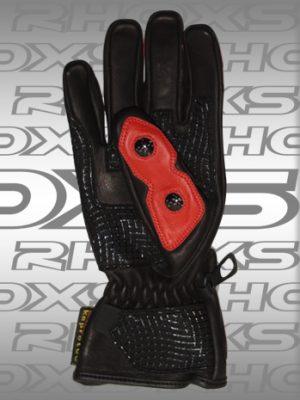 Guantes sport Negros Rojo_H